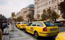Taxi em Praga