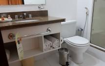 Banheiro do Hotel Quality Jardins