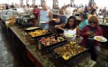 Buffet Completo no Restaurante Porto Canoas