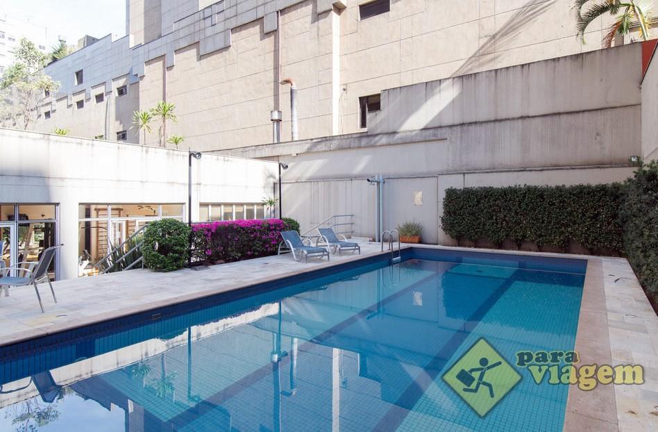 Piscina ao ar livre no quality jardins para viagem for Quality piscinas