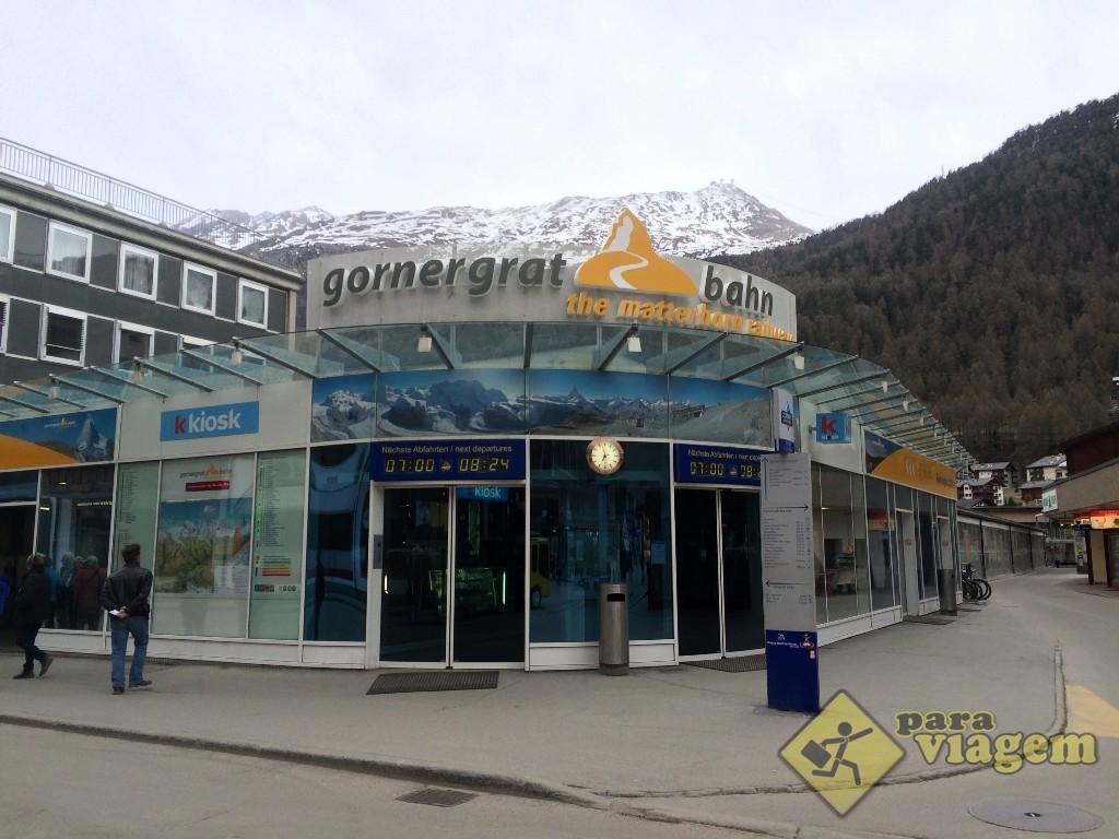 Entrada para o Gornergrat Bahn