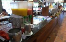 Sucos no Café da Manhã do Village Porto de Galinhas