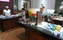Tapioca e Omelete Feitos na Hora no Café da Manhã