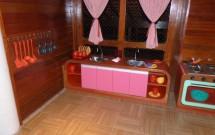 Cozinha Infantil na Vila Brincante do Hotel Village