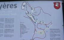 Mapa de Gruyères
