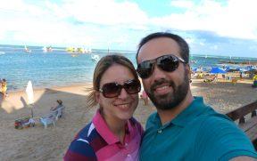 Casal em Porto de Galinhas
