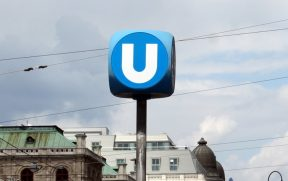 Símbolo do Metrô de Viena (U-Bahn)