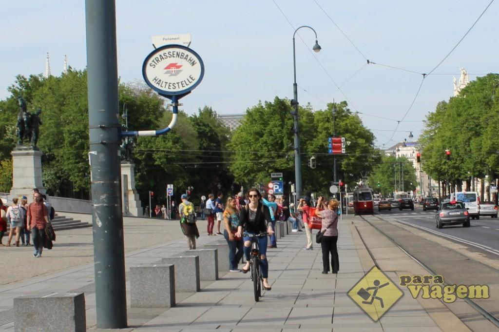 Placa do S-Bahn na Ringstrasse