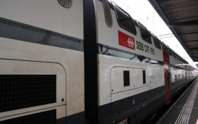 Trem da SBB na Suíça