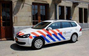 Viatura da polícia de Amsterdam