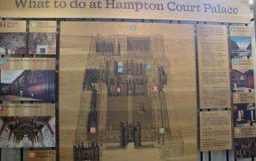 Mapa de Hampton Court Palace