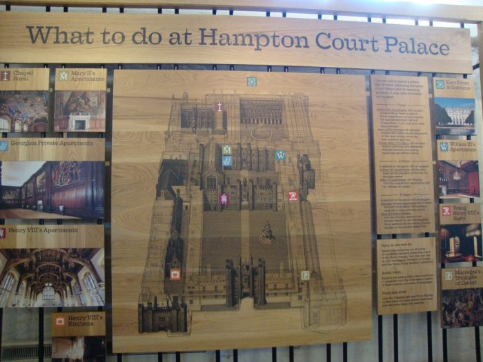 Mapa de Hampton Court Palace