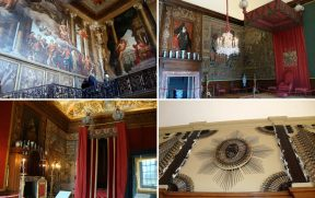 Os Aposentos de Guilherme III em Hampton Court Palace