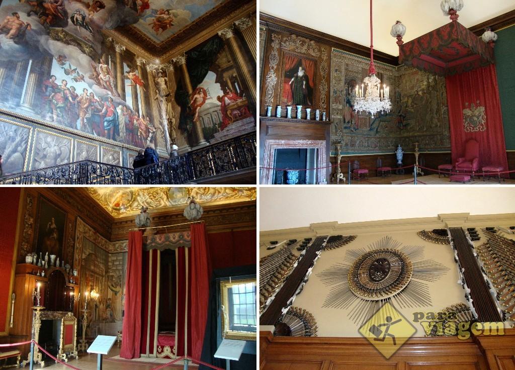 4912bc166b3 Os Aposentos de Guilherme III em Hampton Court Palace - Para Viagem