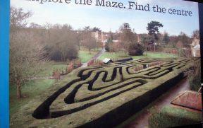 The Maze: o labirinto de Hampton Court