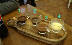 Chocolates produzidos em Hampton Court