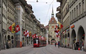Tram (bonde) em Berna