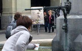 A água das fontes na Suíça é potável e grátis