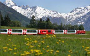 Trem Panorâmico Glacier Express