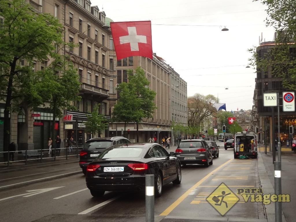 Bahnhofstrasse em Zurique