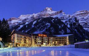 Hotel na Suíça