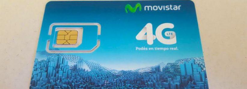 Chip da Movistar Argentina