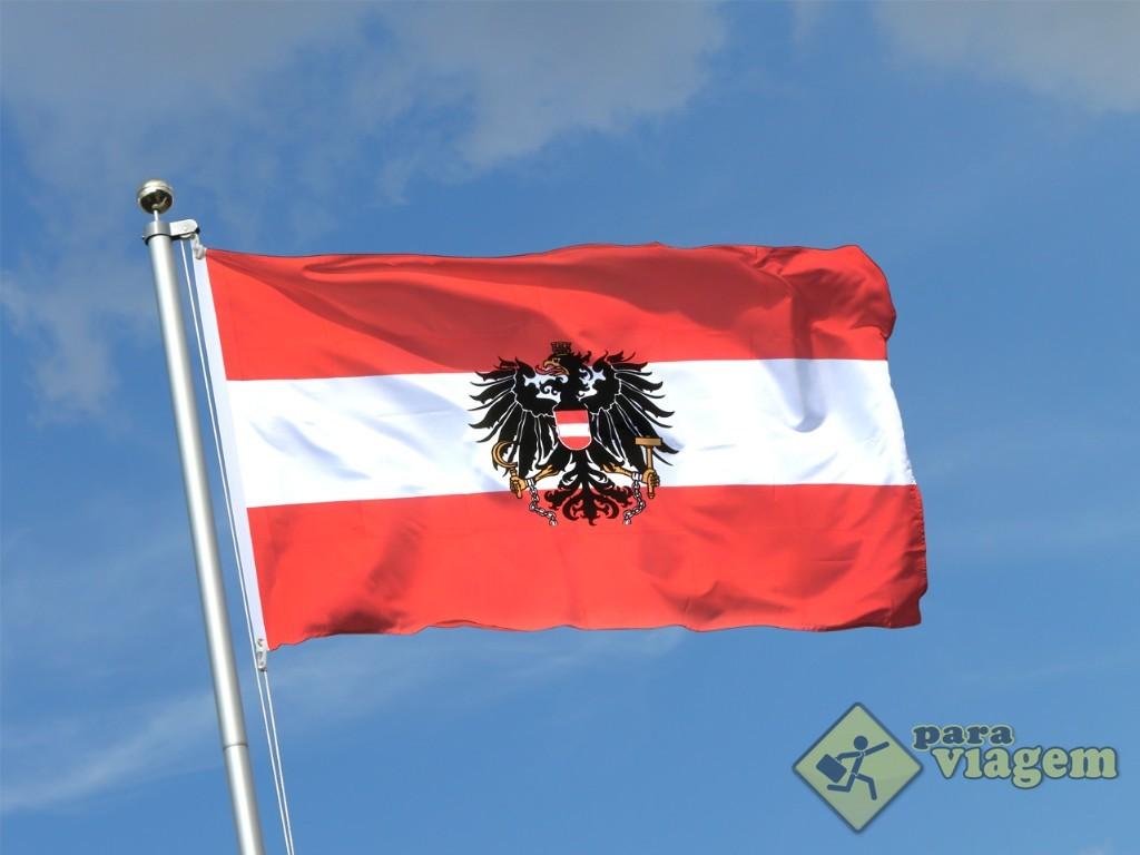 Bandeira Estatal da Áustria