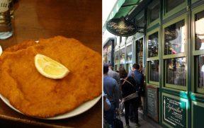 O Wiener Schnitzel da Figlmüller foi o melhor que comi na minha estada na Áustria