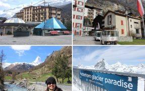 Zermatt e o mirante Matterhorn Glacier Paradise