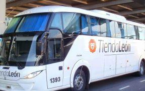 Ônibus da Tienda Leon
