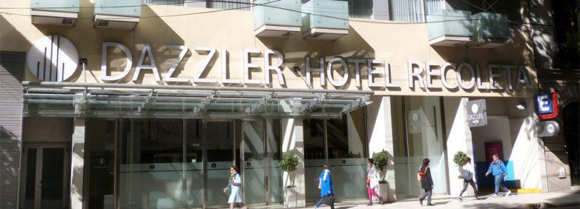 Faixada do Dazzler Hotel Recoleta