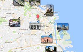 Dazzler Recoleta no Mapa de Buenos Aires