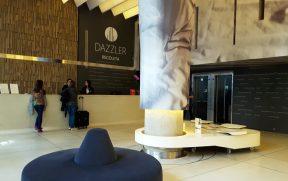 Recepção do Dazzler Hotel Recoleta
