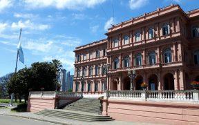 Casa Rosada Durante o Tour Arquitetônico