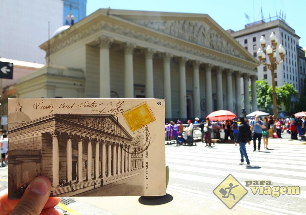 Cartão Postal de 1908 da Catedral Metropolitana