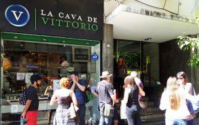 Blogueiros Chegando em La Cava de Vittorio