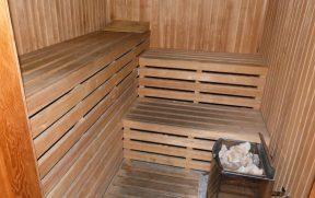 Sauna do Dazzler Hotel Recoleta