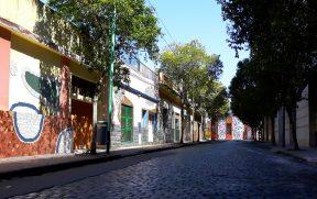 Calle Lanin no Bairro de Barracas