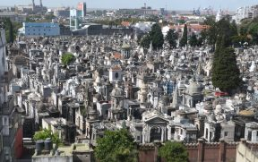 Vista do Cemitério da Recoleta