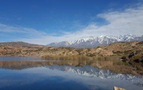 Represa de Potrerillos em Mendoza