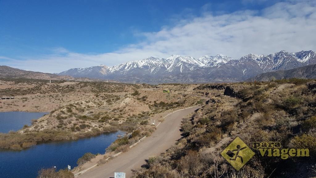 Represa Potrerillos em Mendoza