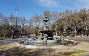 Fuente de los Continentes no Parque General San Martin