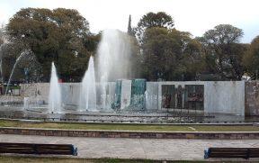 Plaza da Independência em Mendoza