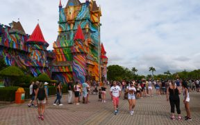Entrada do Parque Beto Carrero World