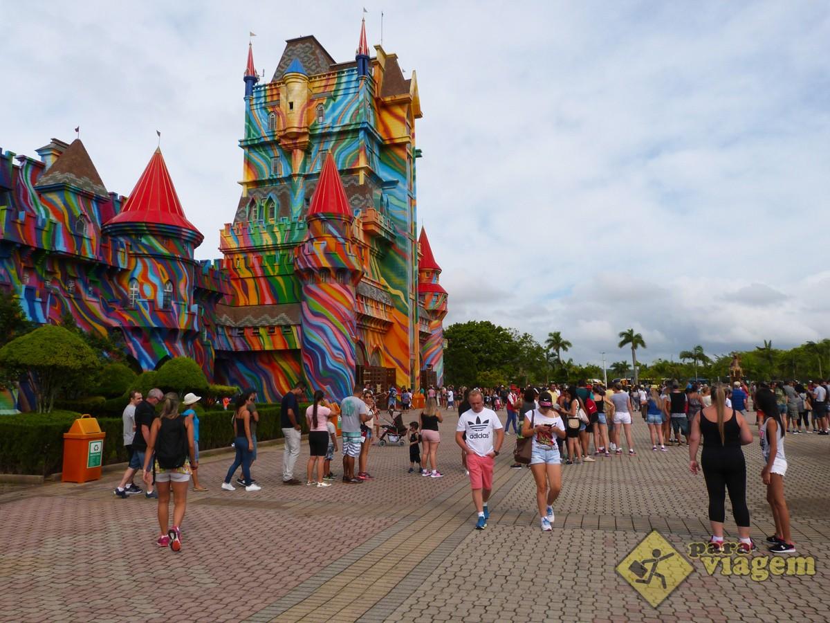 Entrada do Parque Beto Carrero World