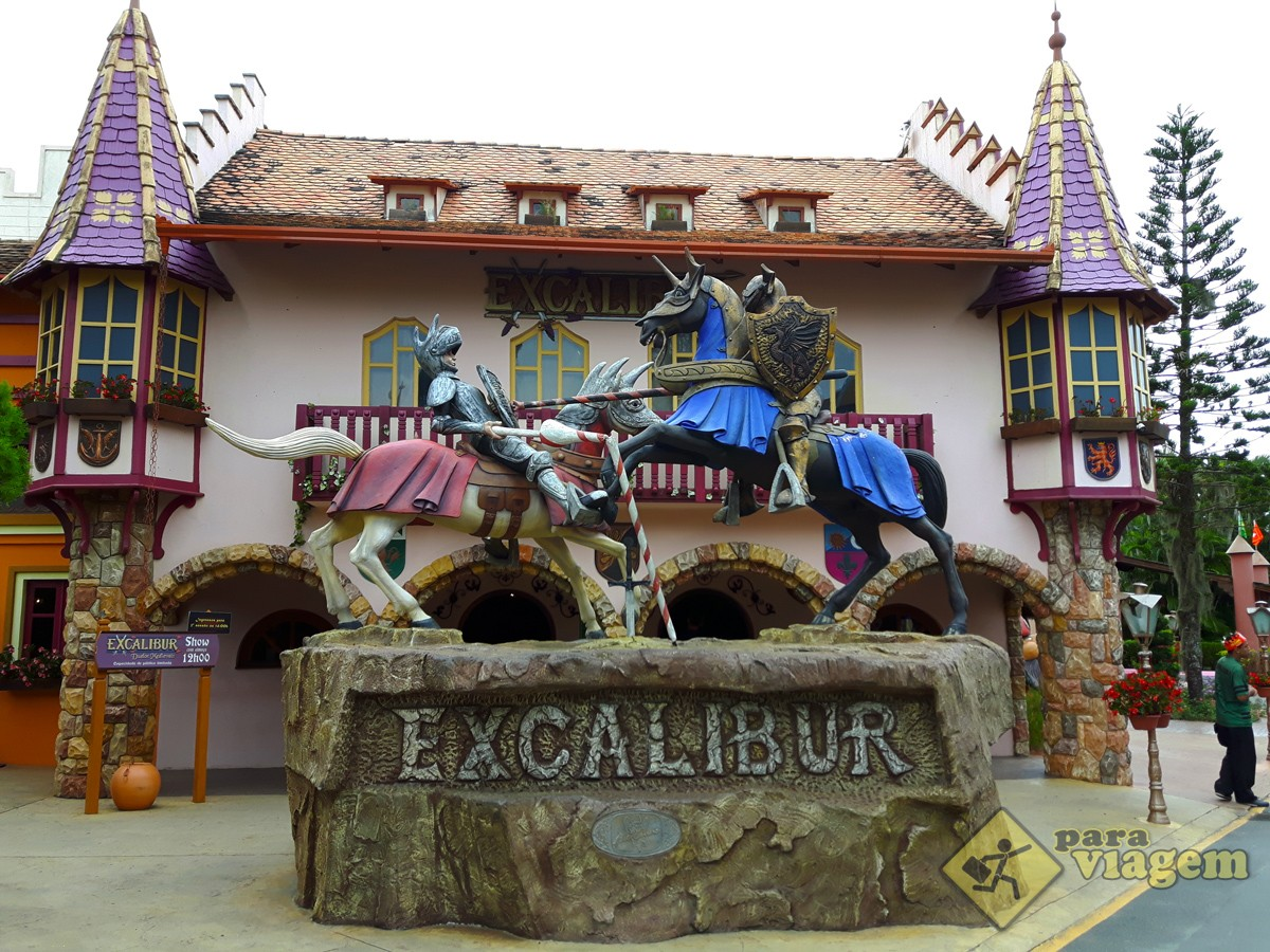 Entrada do Show Excalibur
