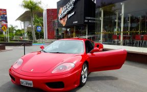 Ferrari Disponível para Test Drive