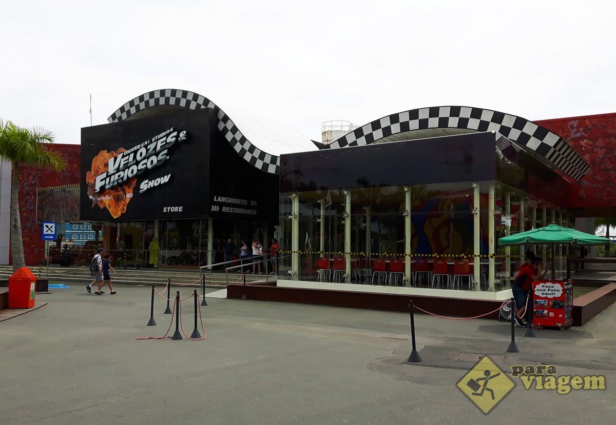 Restaurante Velozes e Furiosos