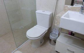 Banheiro da uma das Suites