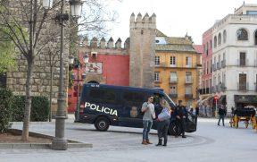 Polícia em Sevilha